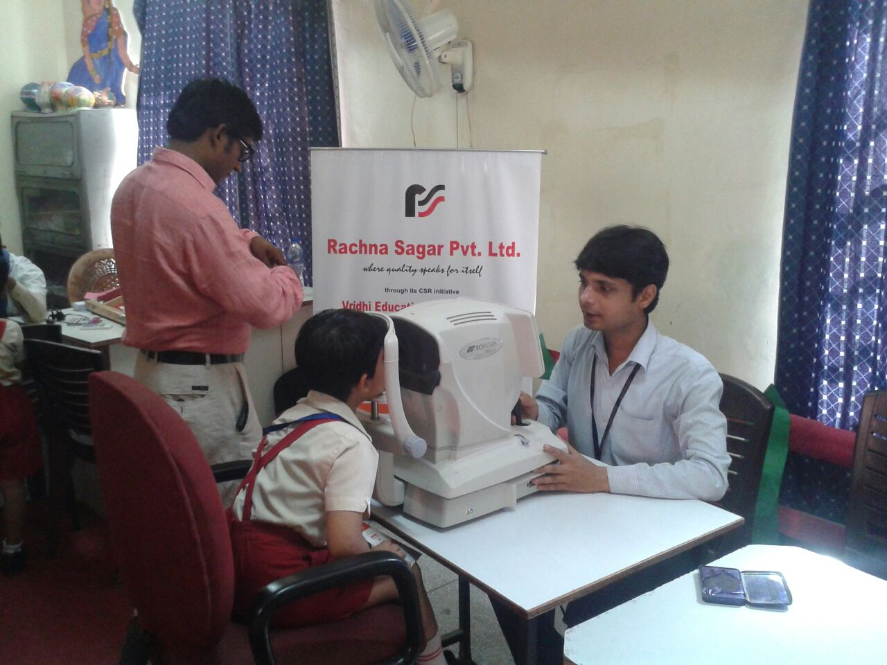 Eye check up camp : St. Thomas School Ghaziabad