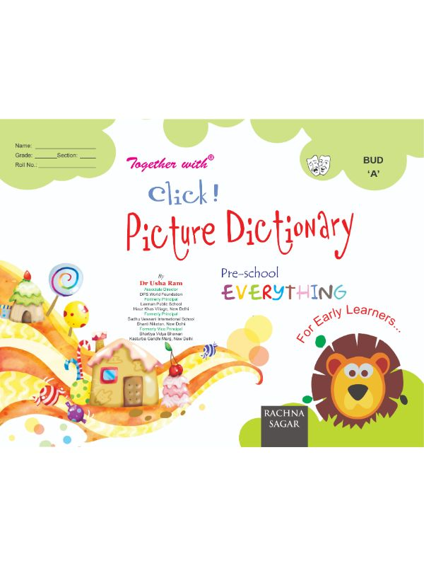 Together With Everything Bud A Click Picture Dictionary for Nursery
