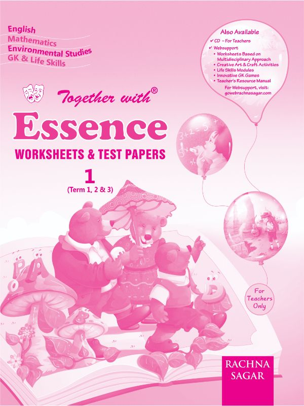 Together with Essence Worksheets for Class 1