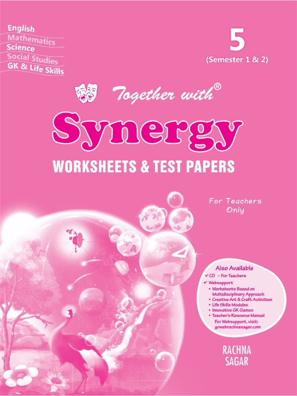Together with Synergy Worksheets & Summative Assessments for Class 5