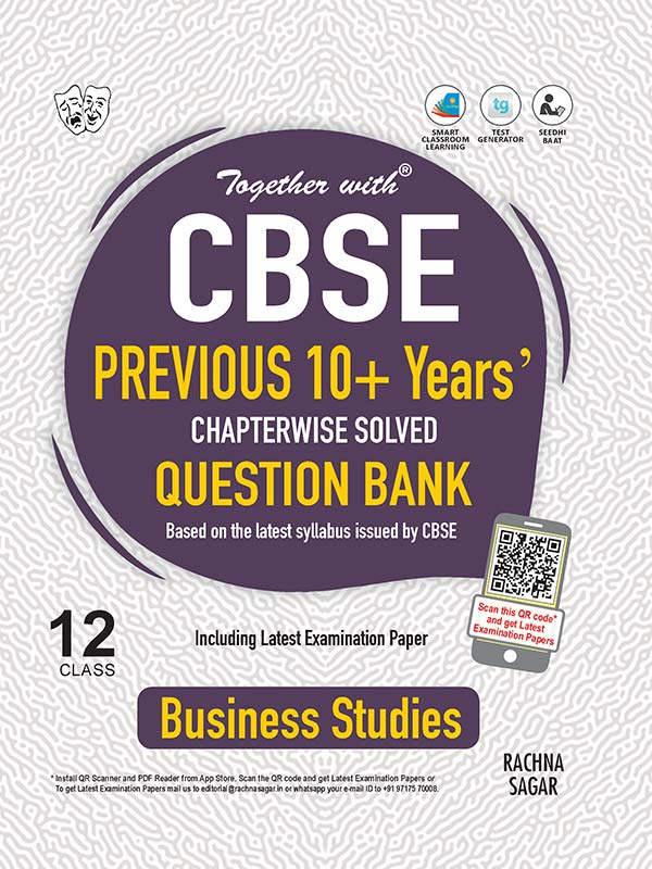 Together with Business Studies CBSE Previous 10+ Years Question Bank for Class 12 Term I & Term II (For 2021-2022 Examination)