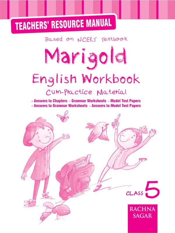 Marigold English NCERT Workbook/Practice Material Solution /TRM for