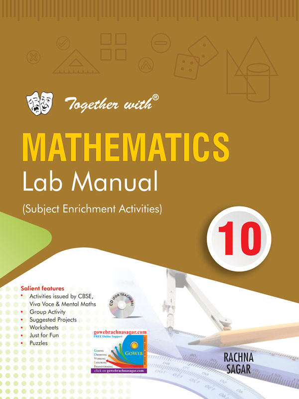 Together with Mathematics Lab Manual (Book) for Class 10