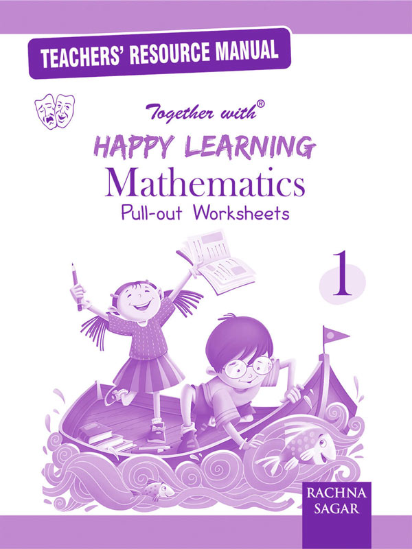 Happy Learning Pull out Worksheets Mathematics TRM/Solution for Class 1