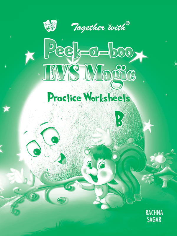 Peek a boo EVS Magic B Preforated Practice worksheets