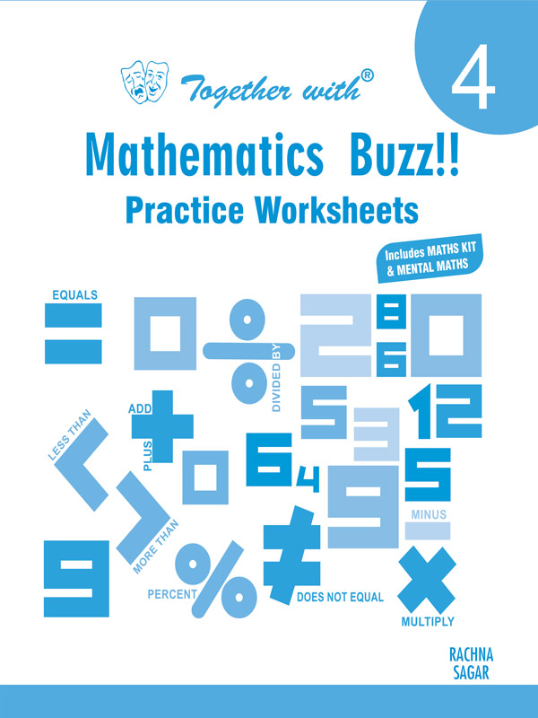 Together with Mathematic Buzz Practice Worksheets for Class 4
