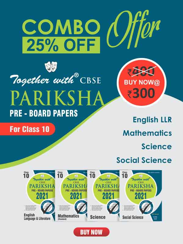 Together with Mathematics, Science, Social Science & English LLR (Pariksha Combo 2021)