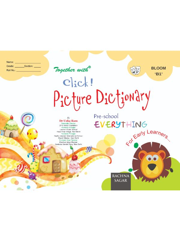 Together With Everything Bloom B1 Click Picture Dictionary for Class LKG