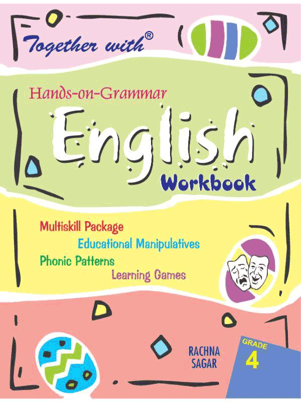 Together With Hands on Grammar English Work Book for Class 4