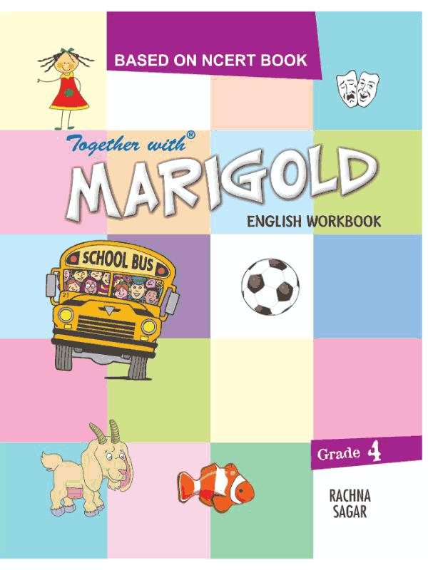 Together With Marigold English Work Book for Class 4