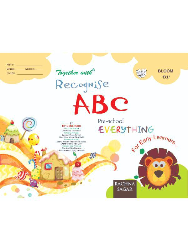 Together With Everything Bloom B1 Recognise ABC for Class LKG