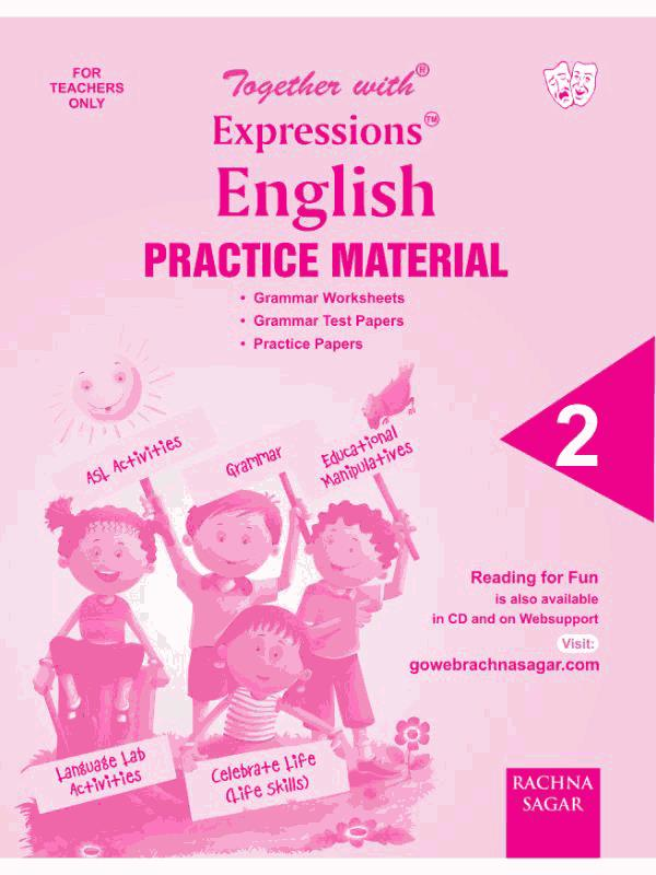 Together with Expressions English Worksheets for Class 2