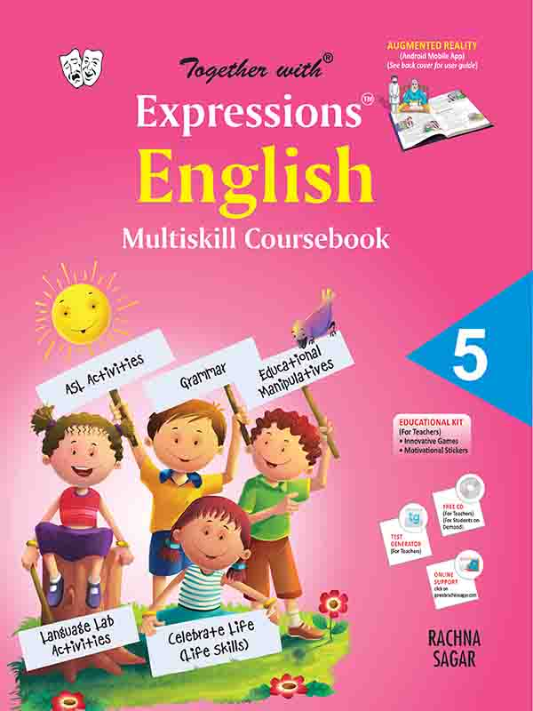 Together With Expressions English Multiskill Coursebook (MCB) for Class 5
