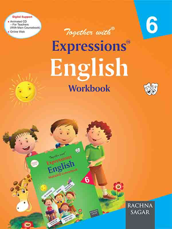Together With Expressions English Work Book for Class 6