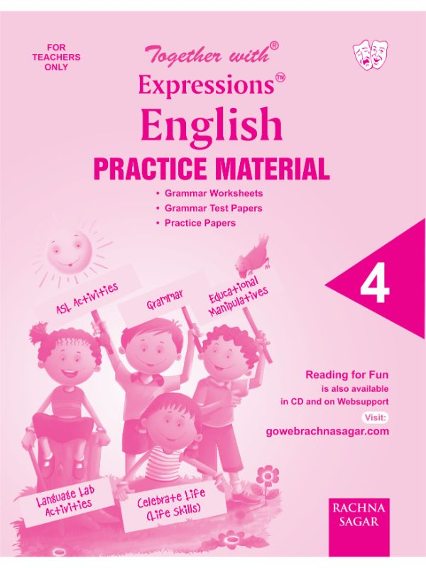 Together with Expressions English Worksheets for Class 4