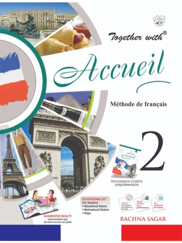 Together with Accueil Text Book Level 2 for Class 7