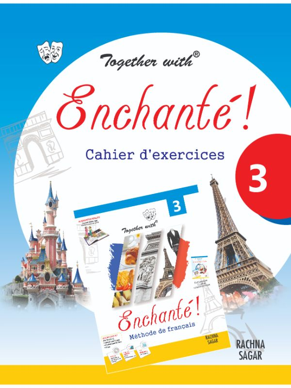 Together with Enchante Work Book 3 for Class 7