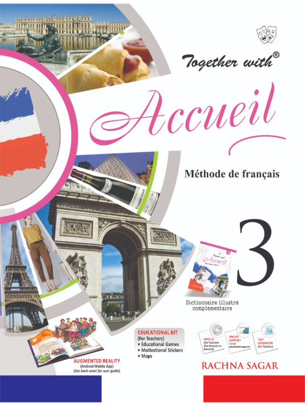 Together with Accueil Text Book Level 3 for Class 8