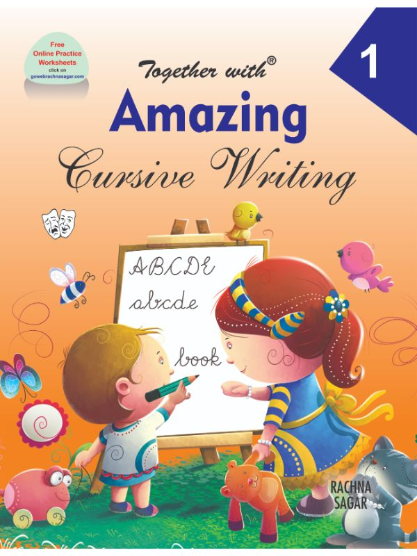 Together with Amazing Cursive Writing for Class 1