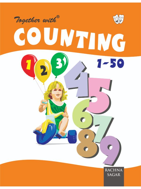 Together With Counting 1-50 for Class LKG