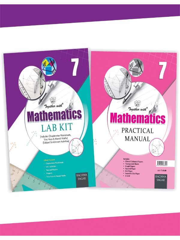 Together With Mathematics Lab Kit (Lab Manual) with Practical Manual for Class 7