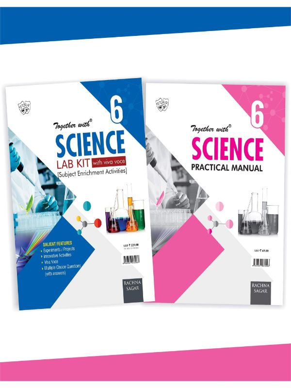 Together With Science Lab Kit (Lab Manual) with Practical Manual for Class 6
