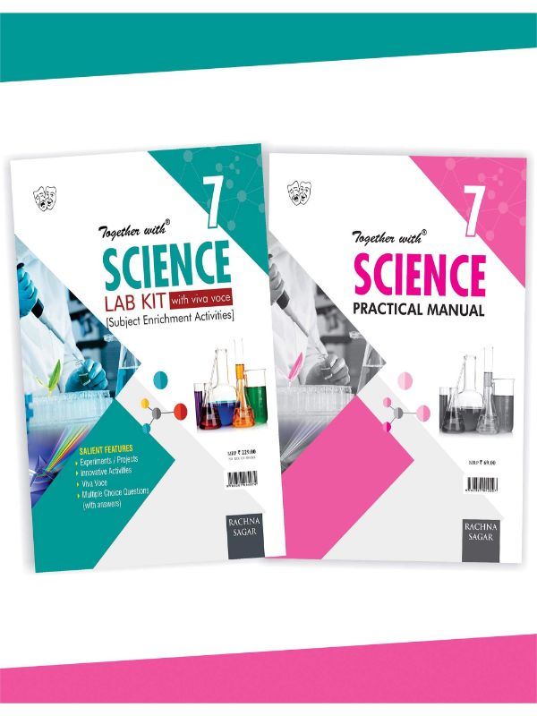 Together With Science Lab Kit (Lab Manual) with Practical Manual for Class 7