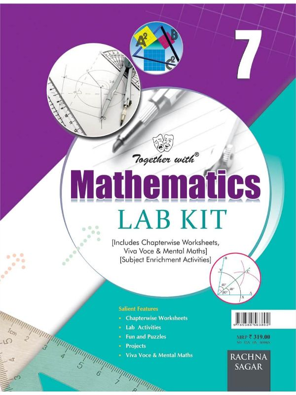 Together with Mathematics Lab Kit (Lab Manual) (Book) for Class 7