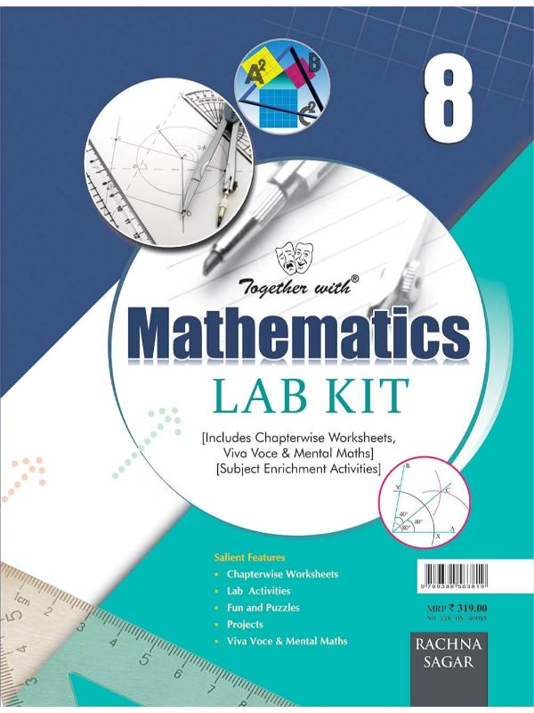 Together with Mathematics Lab Kit (Lab Manual) (Book) for Class 8