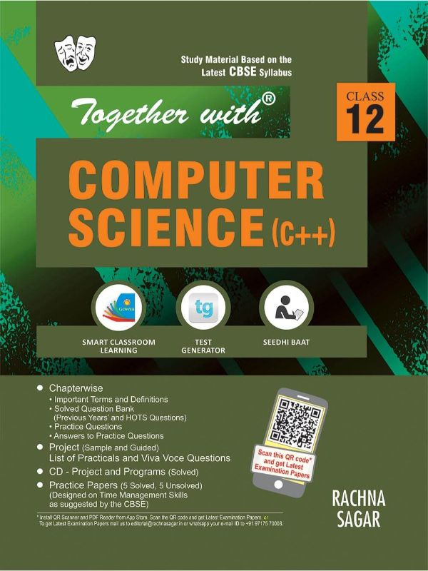Together with Computer Science C++ Study Material for Class 12