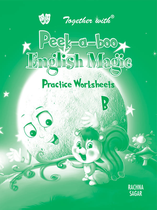 Peek A boo English Magic B Preforated Practice worksheet