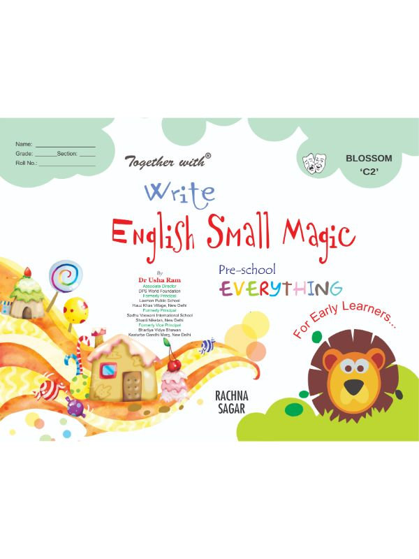 Together With Everything Blossoms C2 Write English Small Magic for Class UKG