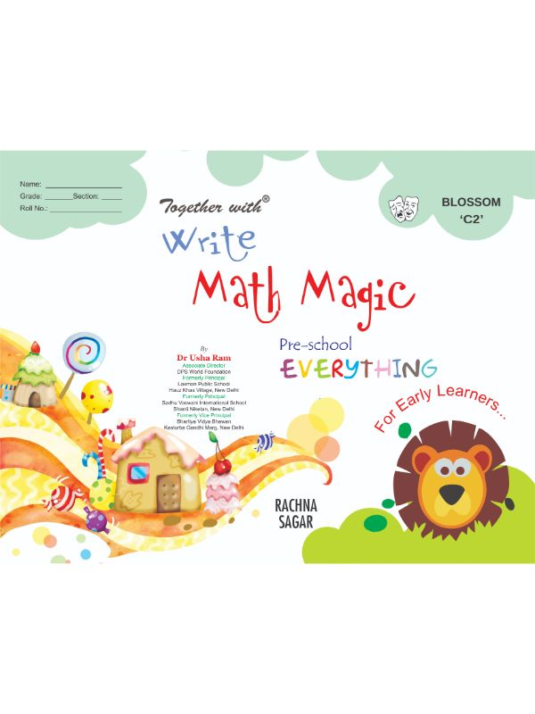 Together With Everything Blossoms C2 Write Math Magic for Class UKG