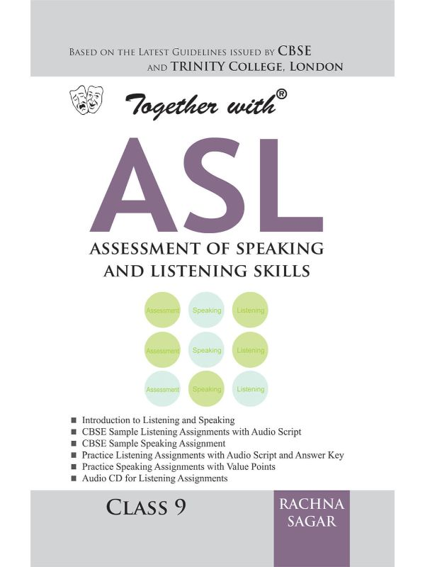 Together With CBSE Assessment of Speaking and Listening Skills for Class 9
