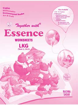 Together With Essence Worksheets for Class LKG