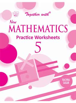 Together with New Mathematics Practice Worksheets for Class 5