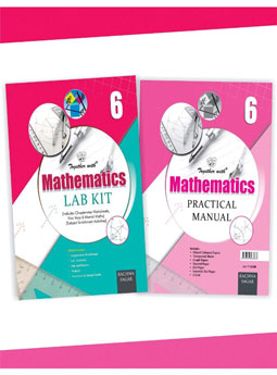 Together With Mathematics Lab Kit (Lab Manual) with Practical Manual for Class 6