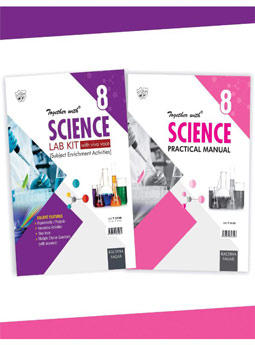 Together With Science Lab Kit (Lab Manual) with Practical Manual for Class 8