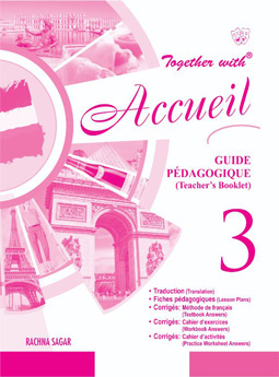 Together with Accueil Text Book Solution/TRM Level 3 for Class 8
