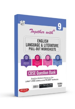 Together with English Language & Literature Pull-out Worksheets for Class 9 Term I & Term II (For 2021-2022 Examination)