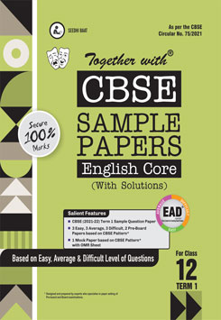 CBSE English Core Sample Papers for Class 12th (2021 Board Examination)