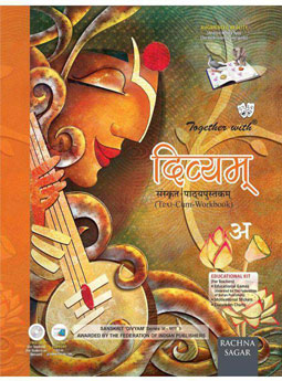 Together with Divyam Sanskrit Text cum Work Book (अ ) for Class 3