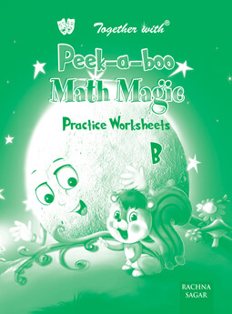 Peek a boo Math Magic B Preforated Practice worksheets