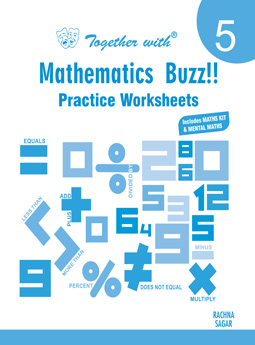 Together Mathematic Buzz Practice Worksheets for Class 5