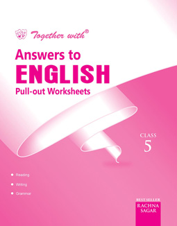 Together With English Pullout Worksheets Solution for Class 5