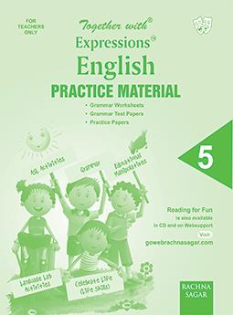 Together with Expressions English Worksheets for Class 5