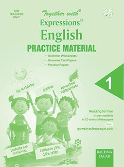 Together with Expressions English Worksheet for Class 1