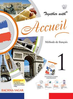 Together with Accueil Text Book Level 1 for Class 6