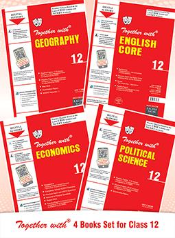 Together with Political Science, Geography, Economics, English Core & Assignment with Solution Class 12 (Set of 4 Books)