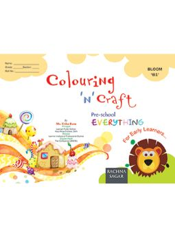Together With Everything Bloom B1 Colouring-N-Craft for Class LKG